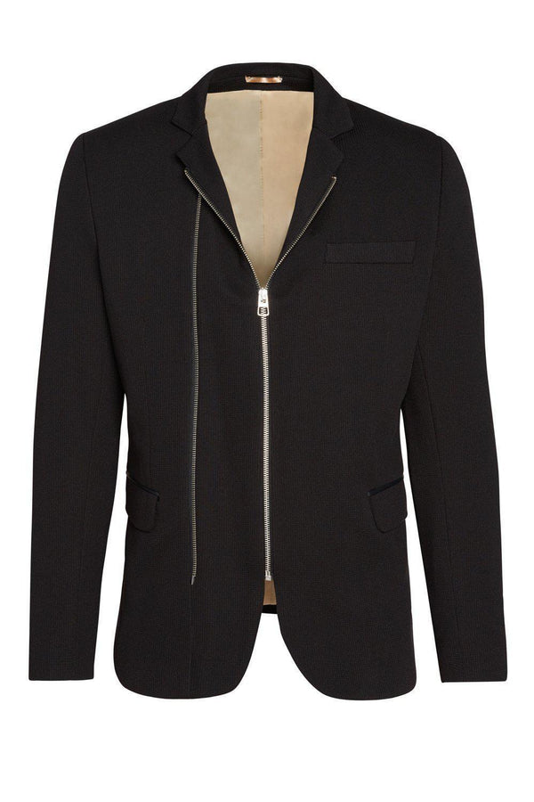 Double Zipper Jacket - Black