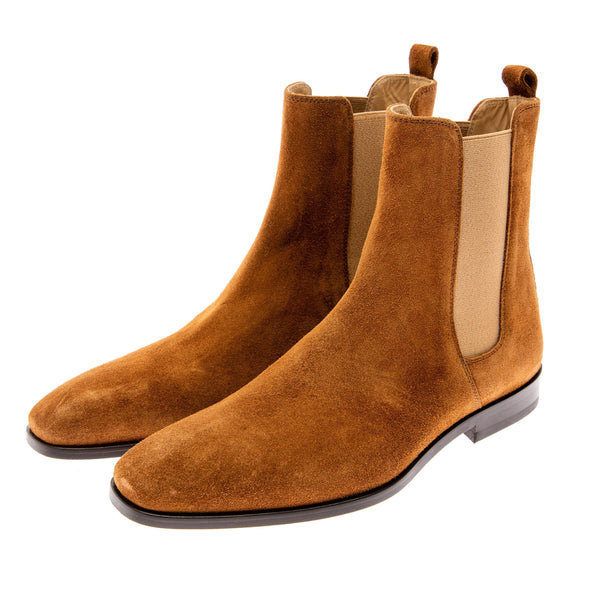 Essential Chelsea Boot - TOBACCO SUEDE