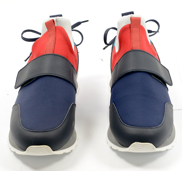 Even Flow Runner Sneaker - Navy Red