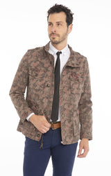 Fitted Military Jacket - KHAKI - Ron Tomson