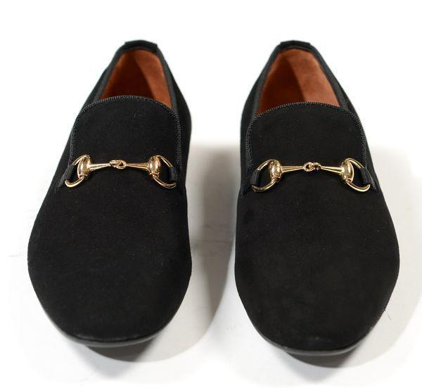 Gold Horsebit Loafer - 31466 - Ron Tomson