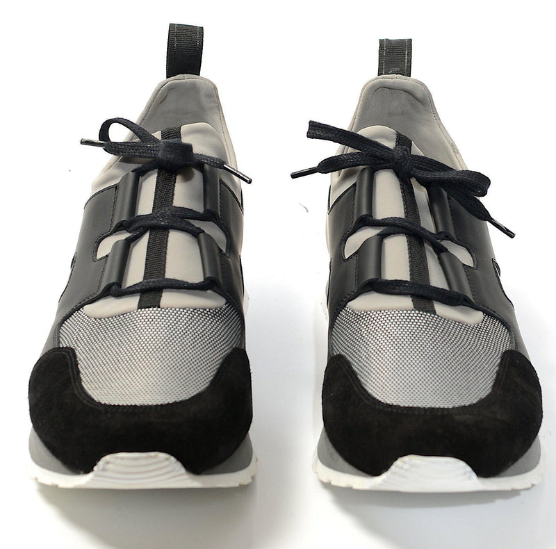 Hunter Runner Sneaker - Grey Black