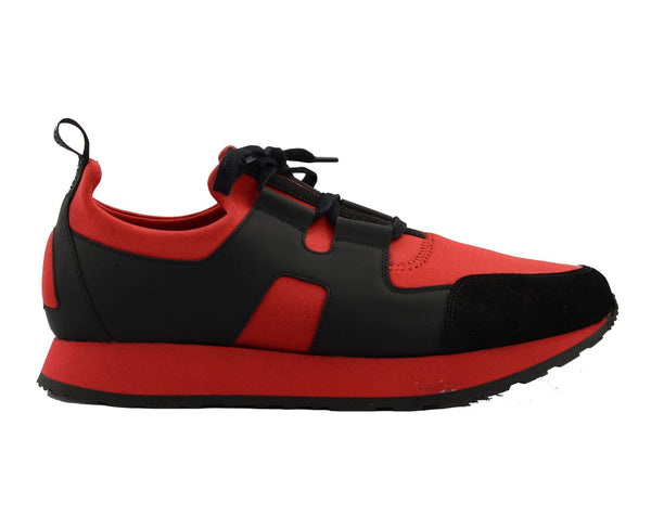 Hunter Runner Sneaker - Red Black - Ron Tomson