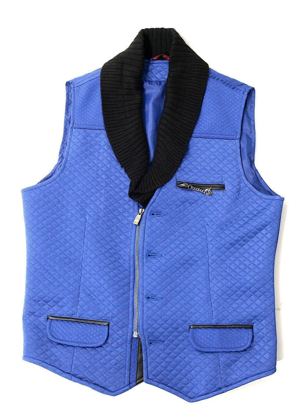 Knitted Shawl Lapel Vest
