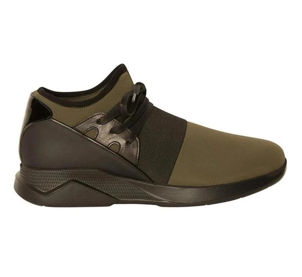 Lagoon Casual Sneaker - Olive Black