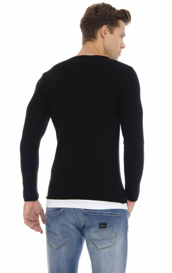 Layered Lightweight Long Sweater - More Colors - Ron Tomson