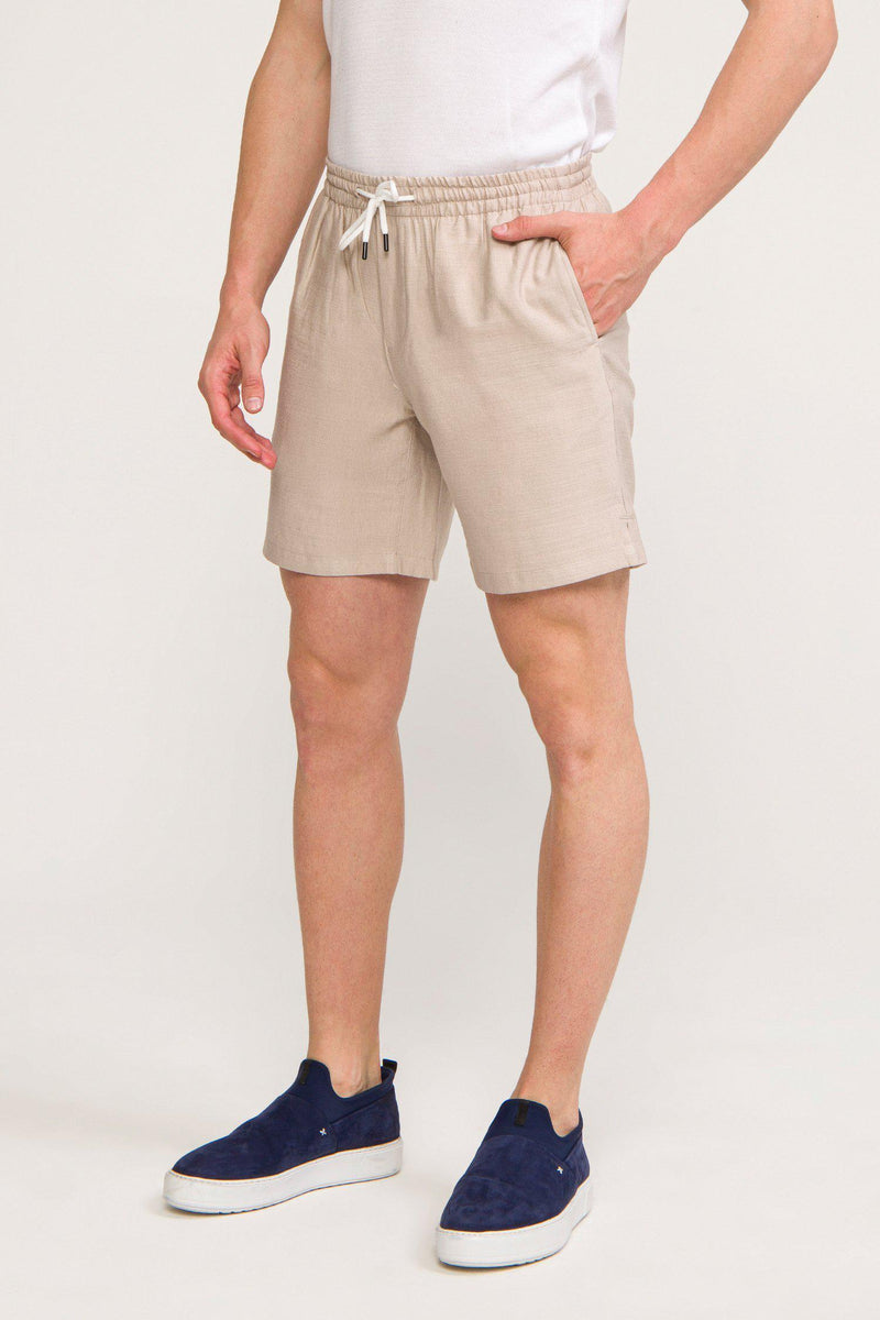 Lightweight Shorts - STONE - Ron Tomson