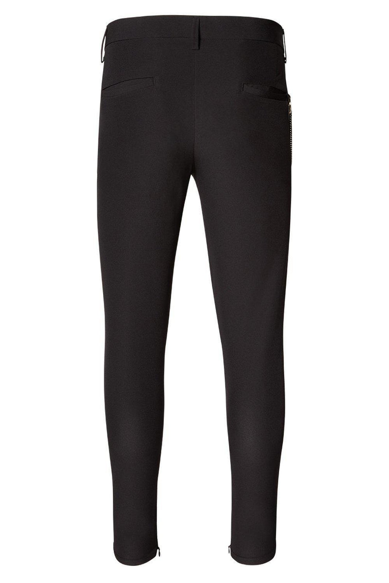 LIGHTWEIGHT TAILORED TROUSER BLACK - Ron Tomson