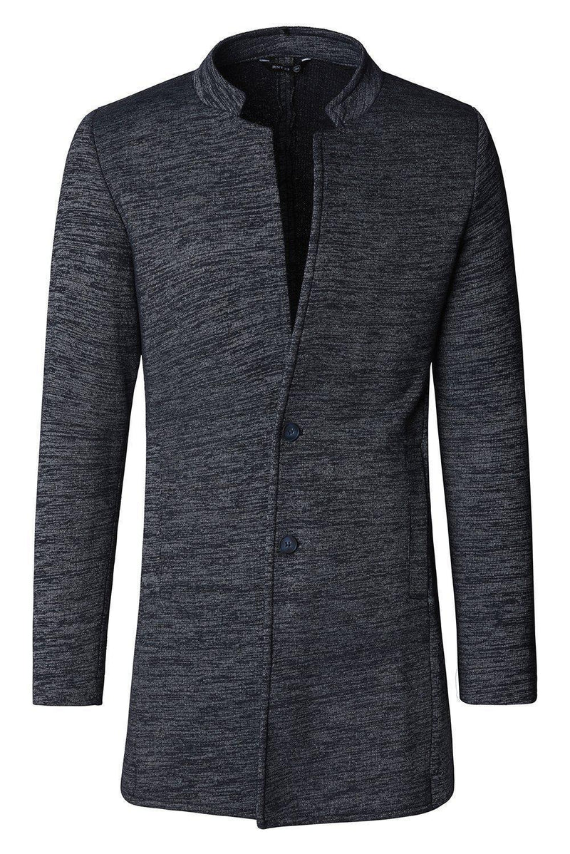 Long Cardigan - Navy