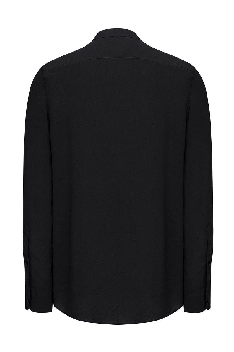 Long Sleeve Shirt in Black