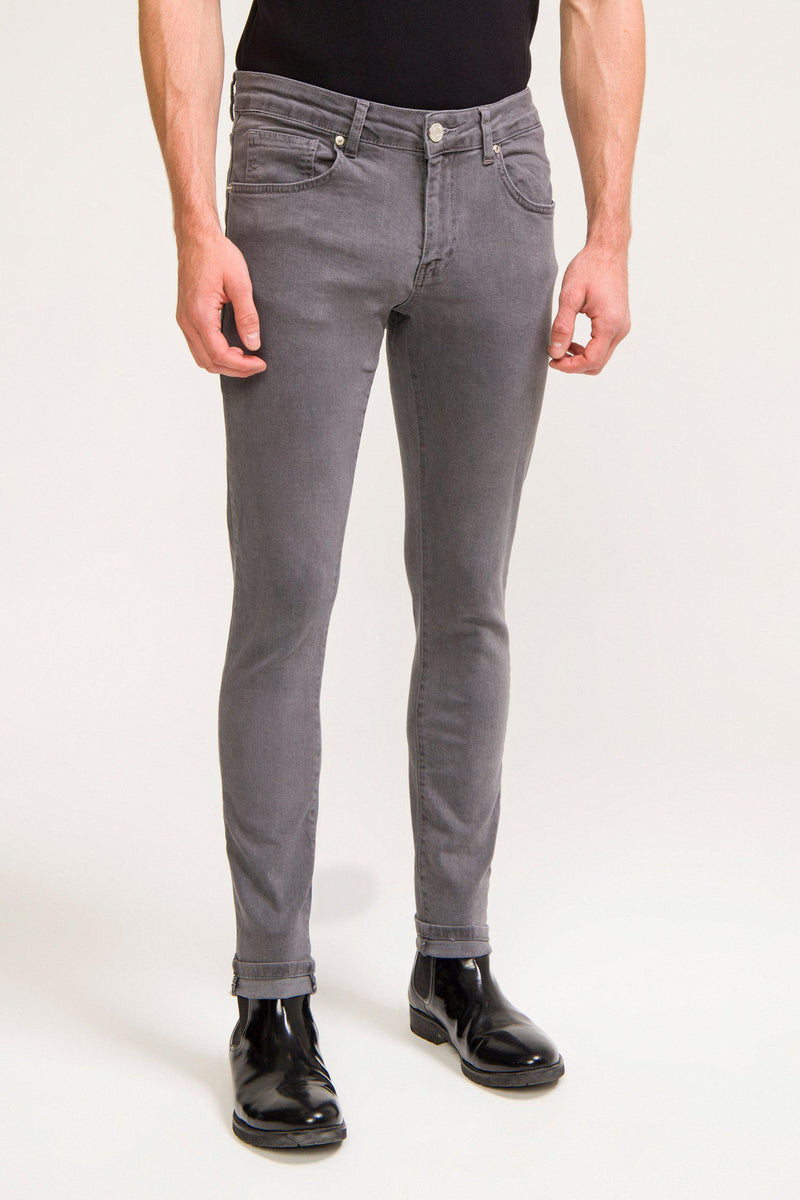 LUX 2 WEEKS WASH GREY DENIM - Ron Tomson