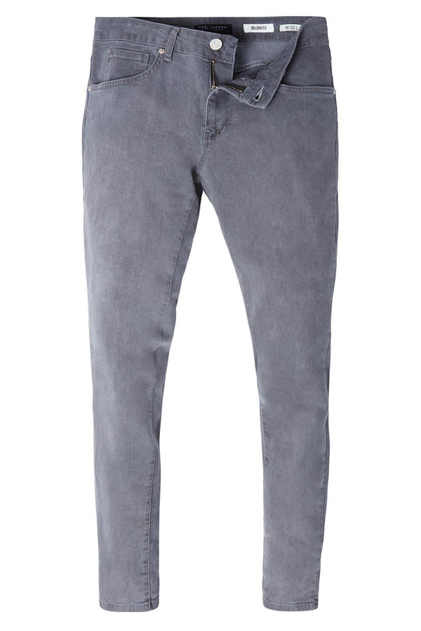 LUX 2 WEEKS WASH GREY DENIM