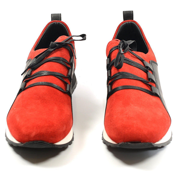 Mars Casual Sneaker - Red Black - Ron Tomson