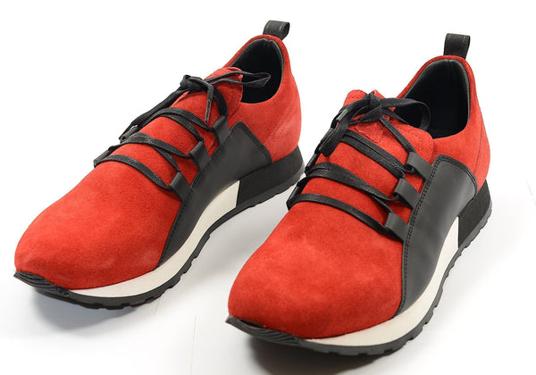 Mars Casual Sneaker - Red Black