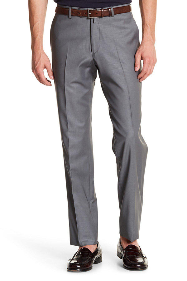 Merino Wool Dress Pants - Grey
