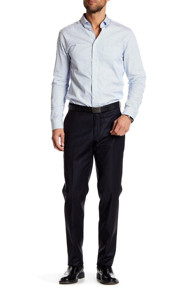 Merino Wool Dress Pants - Navy