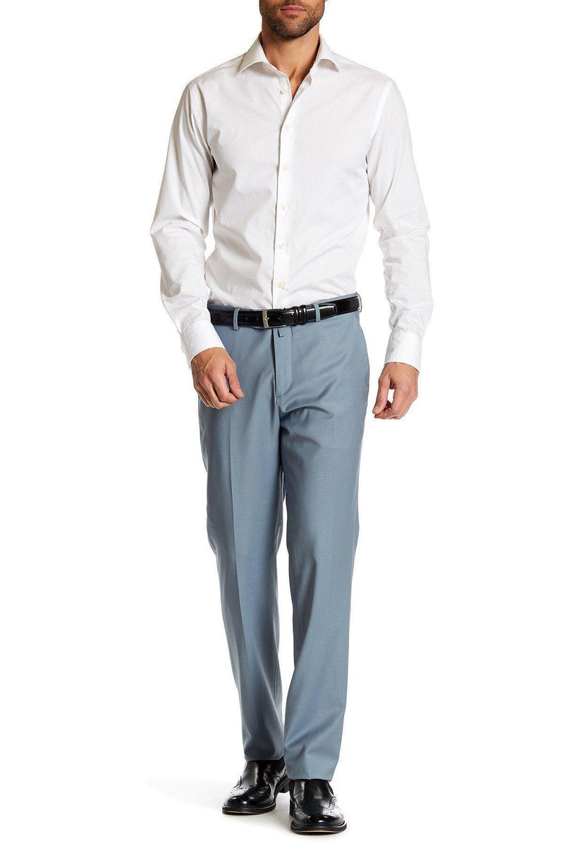 Merino Wool Dress Pants - Sky Blue