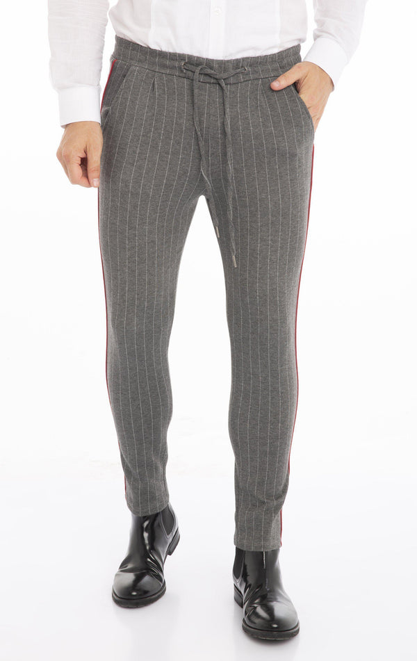 Midnight Joggers - Grey Stripe