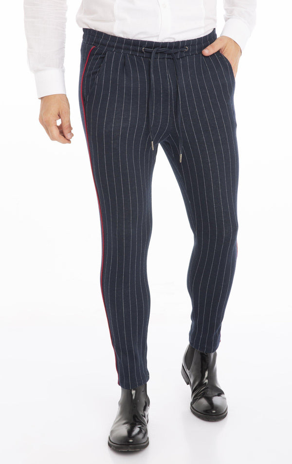 Midnight Joggers - Navy Stripe