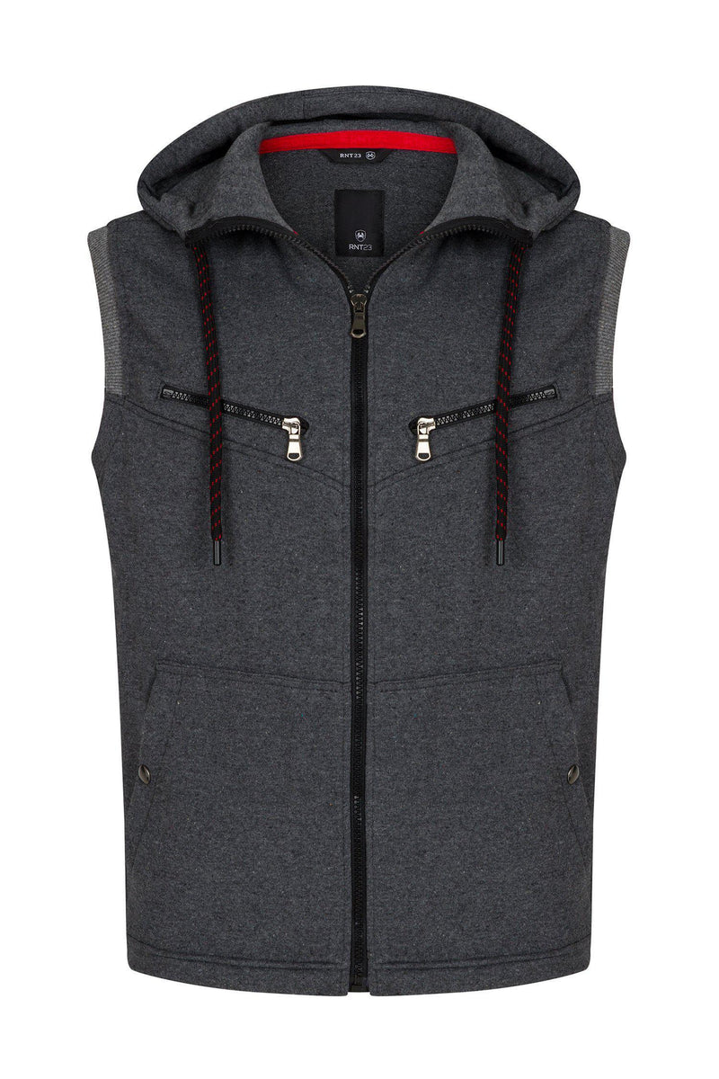 Mountaineer Gilet Vest - Anthracite - Ron Tomson