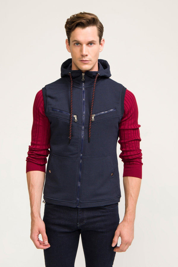 Mountaineer Gilet Vest - Navy