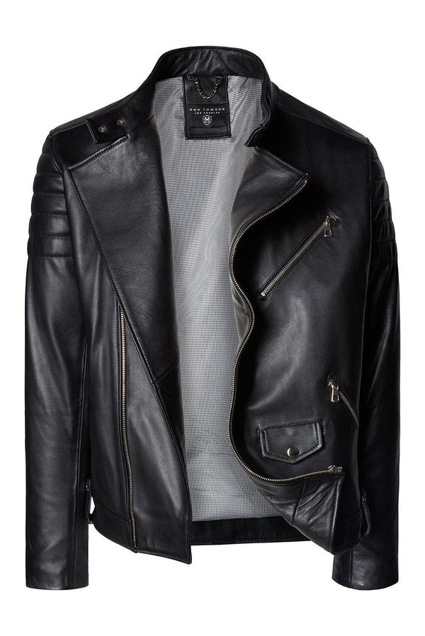 Mr Wick - Black Calf Leather