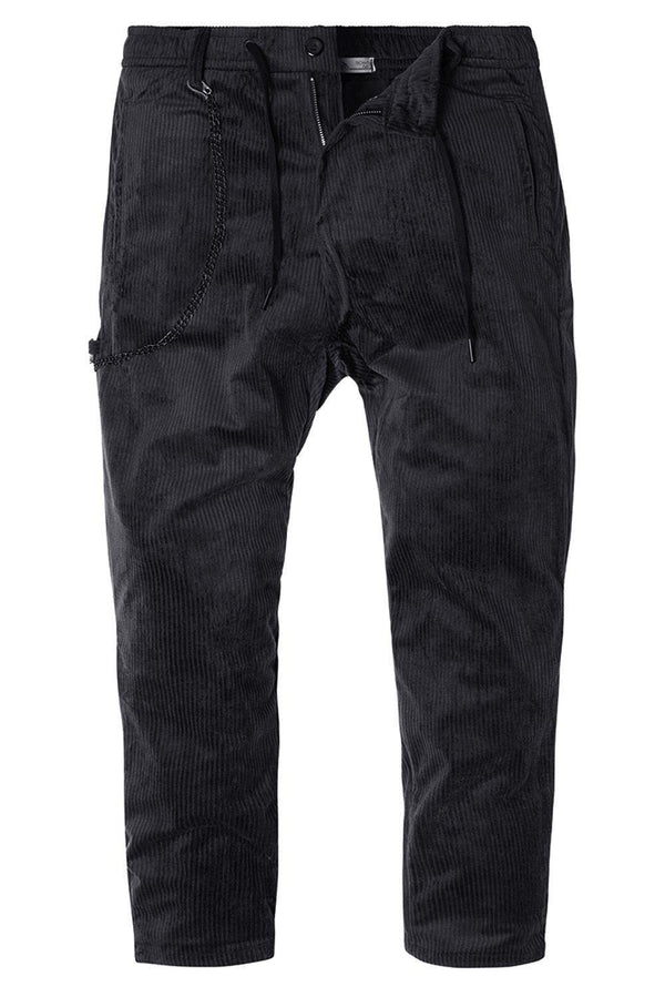 Oslo Velvet Trouser - Black