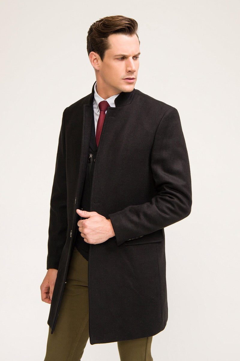 Peacoat - Black - Ron Tomson