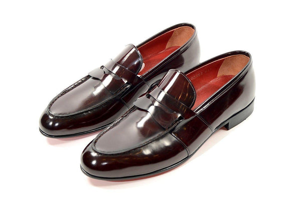 Penny Loafer - Burgundy - Ron Tomson