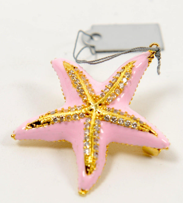 Pink Starfish Brooch - PN-1954