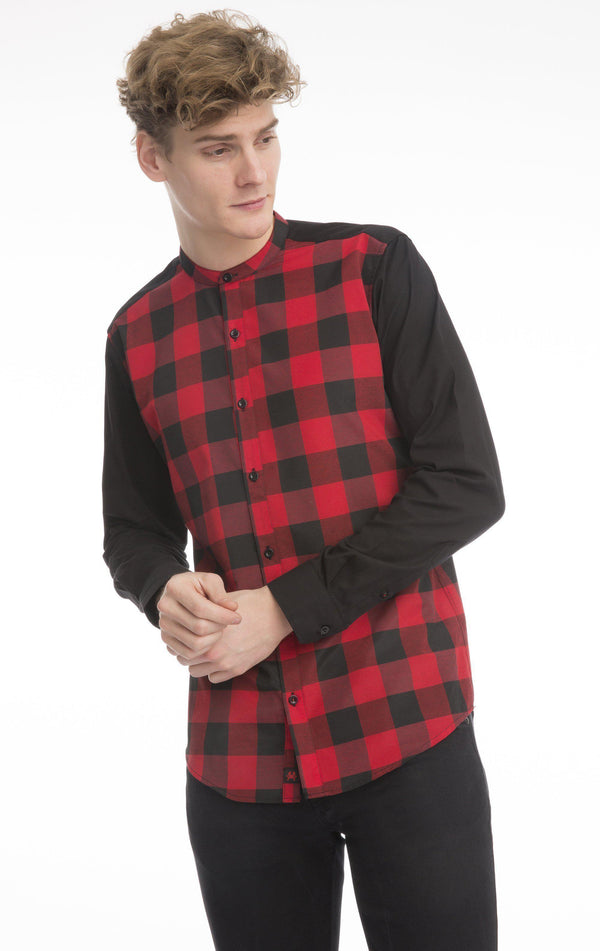 Plaid Printed Shirt - Ron Tomson