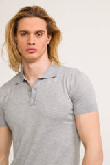 Polo Shirt  - Grey - Ron Tomson