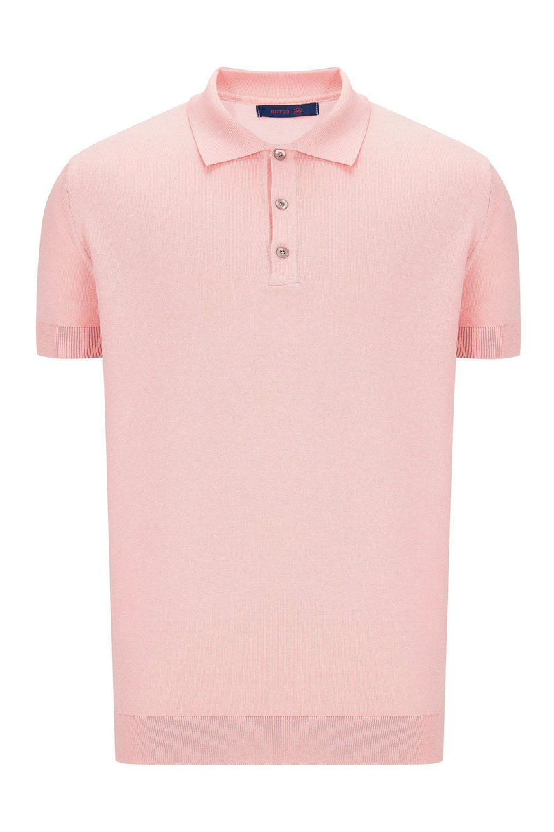Polo Shirt - Pink - Ron Tomson