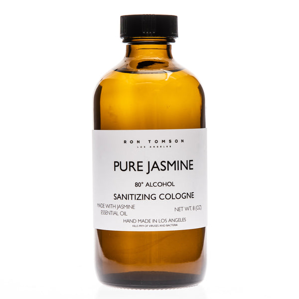 Pure Jasmine Sanitizing Cologne - Ron Tomson