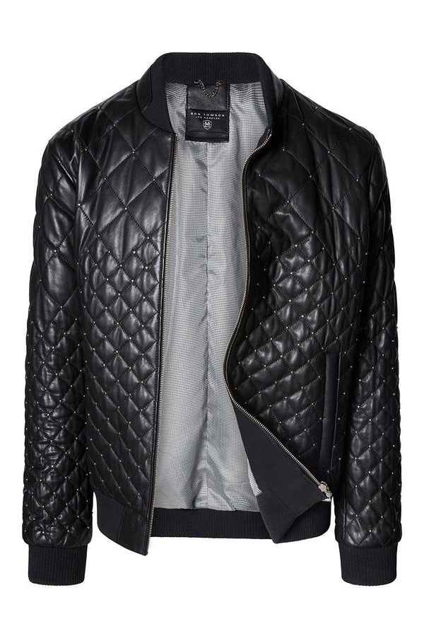 Quilted Artisan - Black Calf Leather - Ron Tomson