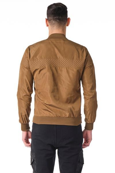 Quilted Full -Zip Bomber Jacket - Vizon - Ron Tomson