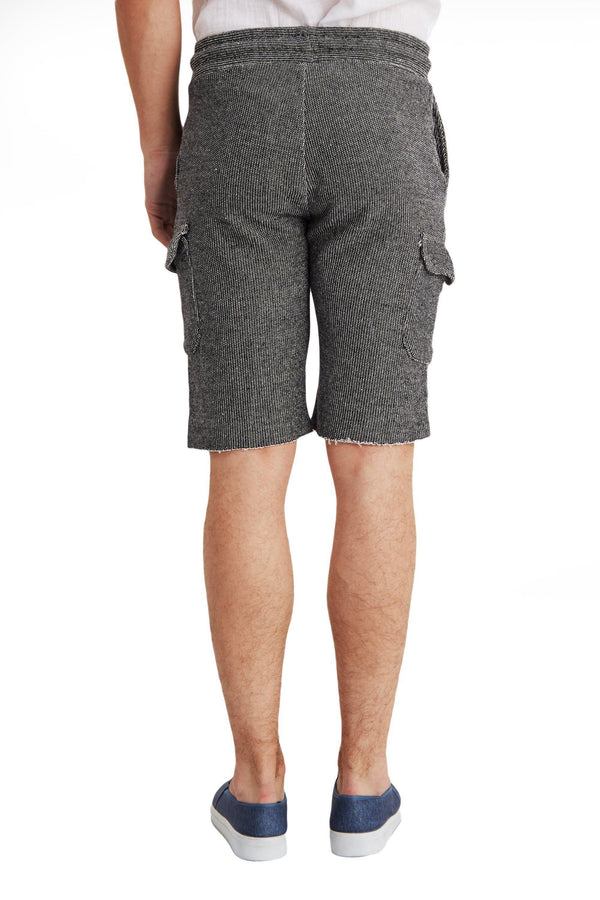 Raw Hem Casual Trainer Shorts - More Colors - Ron Tomson