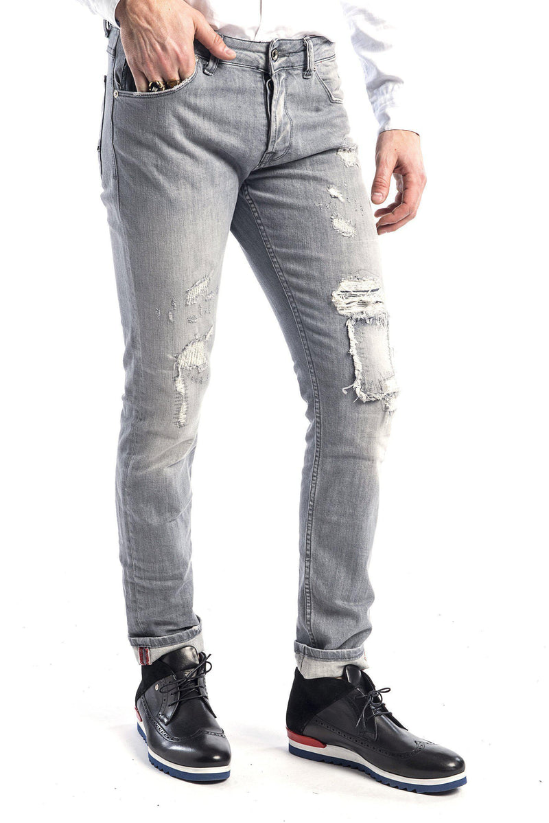 Rip and Repair Jeans - More Colors - Ron Tomson