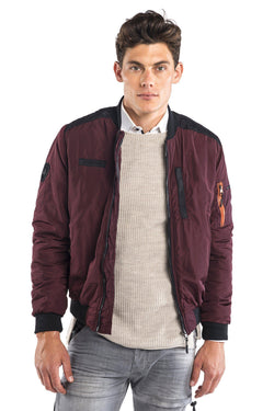 RT Aviator Flight Bomber - Wine