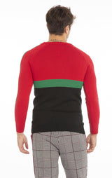 Rt Crsh Code Knit Long Sleeve - Black - Ron Tomson