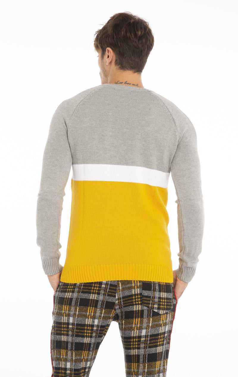 Rt Crsh Code Knit Long Sleeve - Yellow