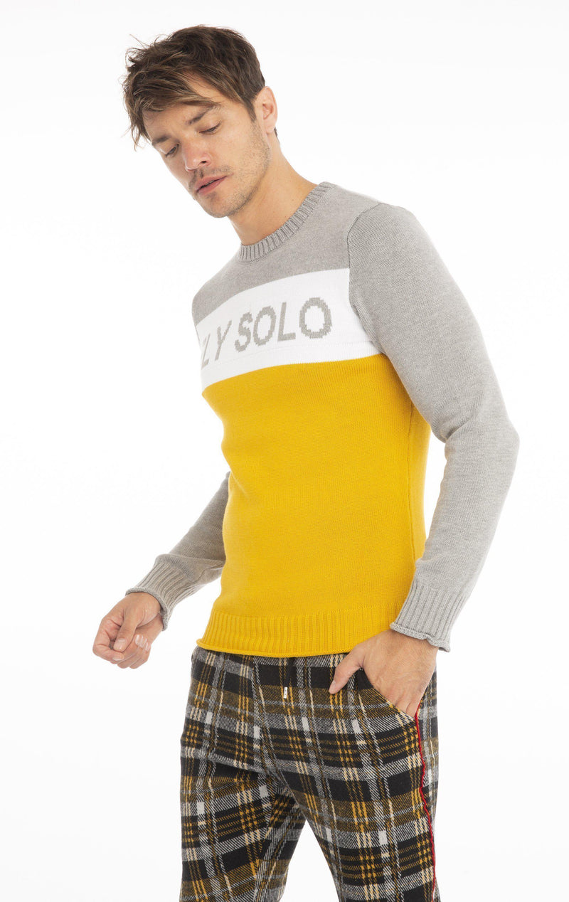 Rt Fly Solo Knit Long Sleeve - Yellow