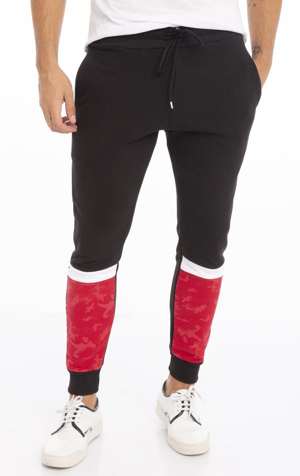 RT Ranger Sweatpants - Black Red