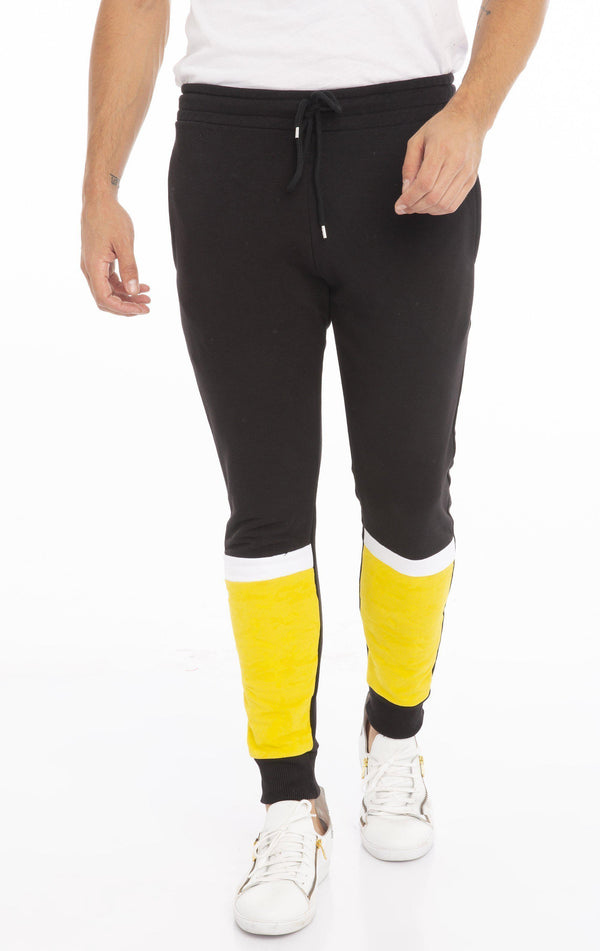 RT Ranger Sweatpants - Black Yellow
