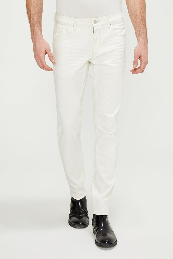 RT Tapered Jeans - White