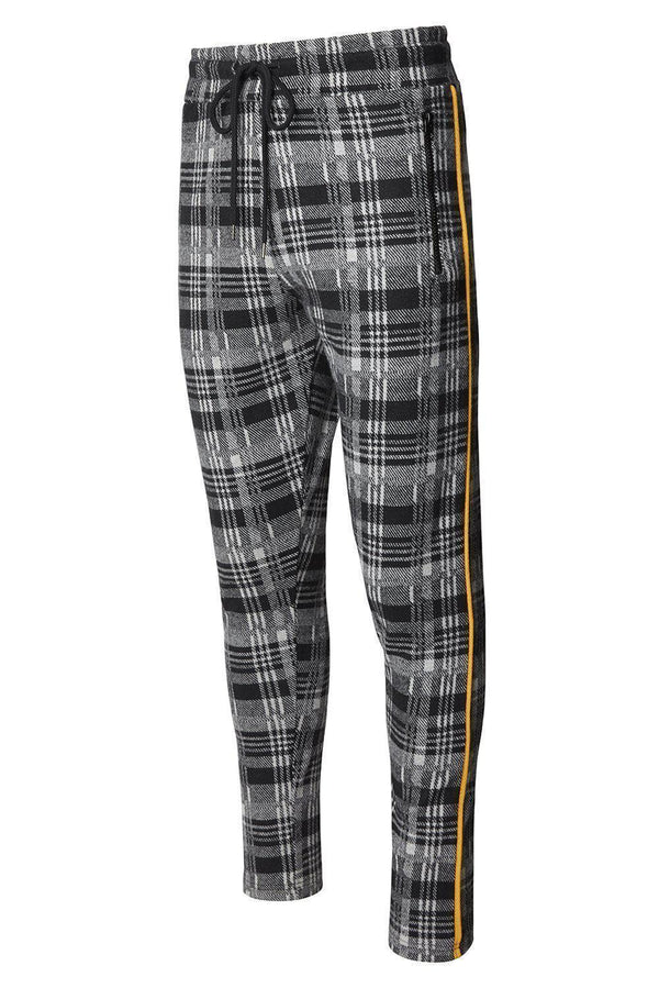 Sari Night Joggers - Black Grey