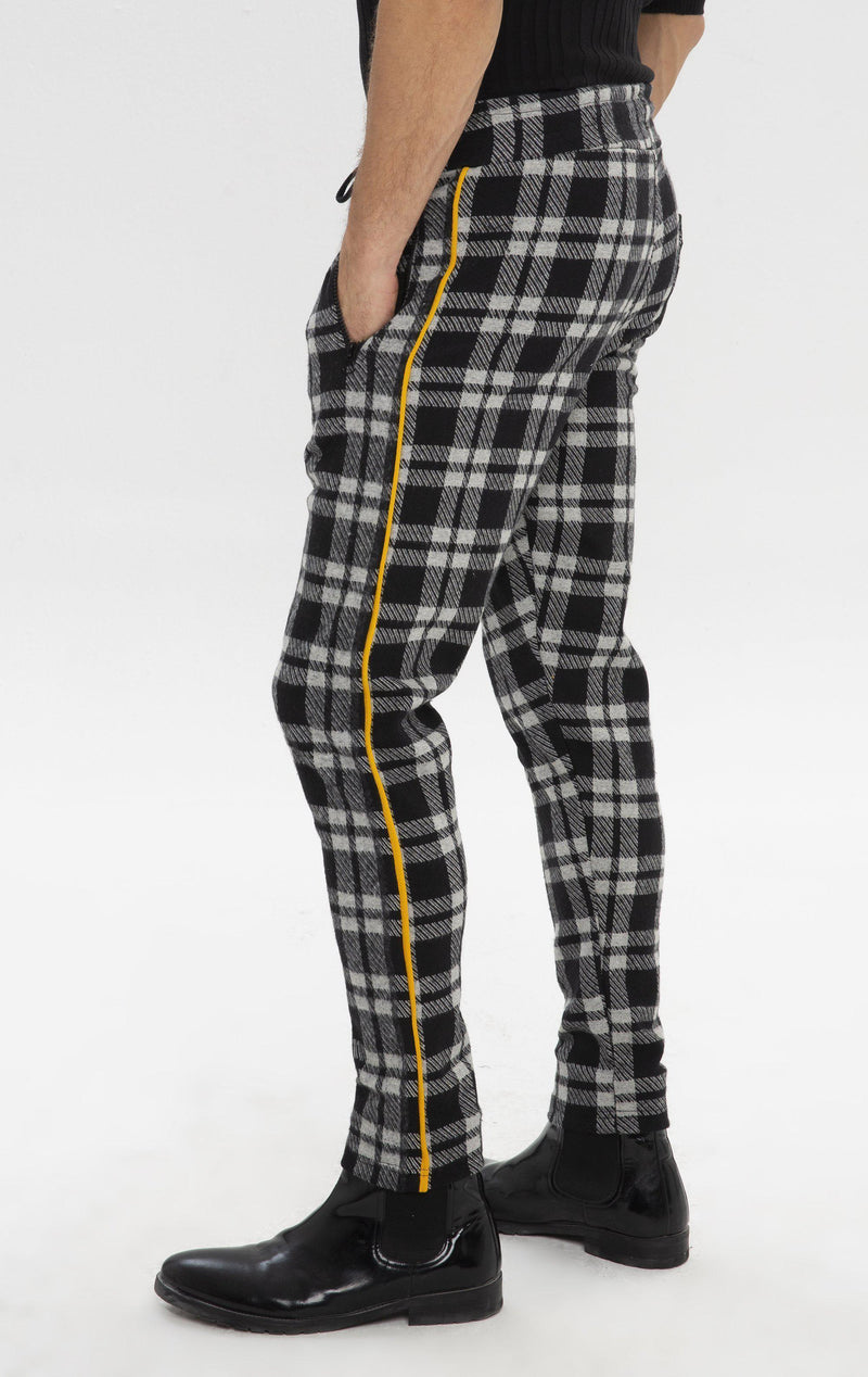 Sari Night Joggers - Black Smoked