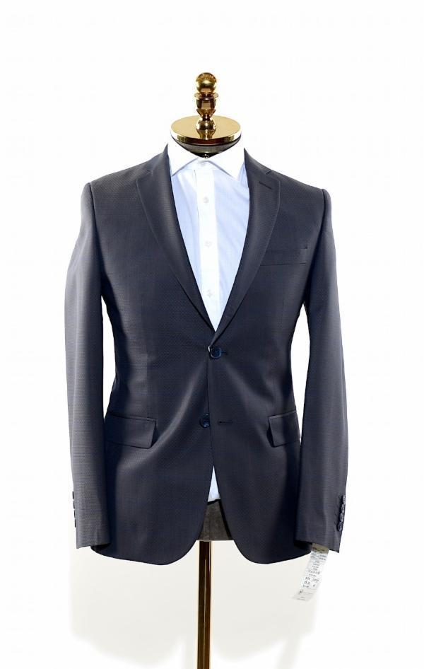 Sharkskin Wool Suit - Ron Tomson