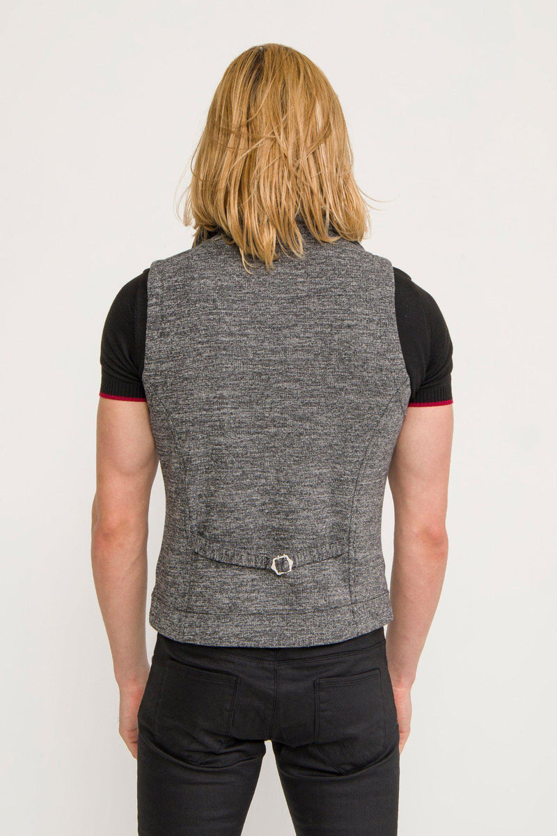 SIGNATURE MOTO VEST - ANTHRACITE