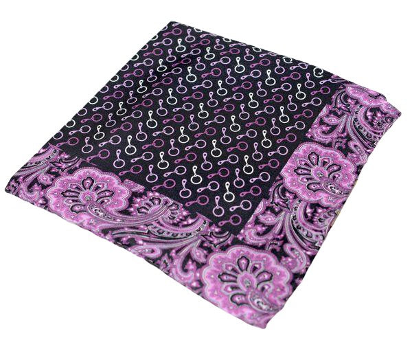 Silk Pocket Square  - Lilac